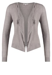 Opus Dusama Cardigan Stone Grey Dark Gray