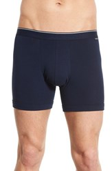 Nordstrom Men's Stretch Boxer Briefs Navy Grey Blue