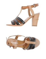 Alternativa High Heeled Sandals Black