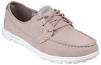 Skechers On The Go Mist Canvas Shoes Beige