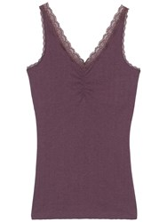 Fat Face Maizey Pointelle Cami Fig