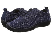 Arcopedico Ls Navy Starry Nite Women's Lace Up Casual Shoes Black