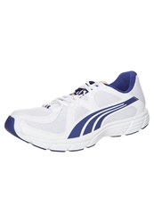 Puma Axis V3 Mesh Cushioned Running Shoes White Clematis Blue