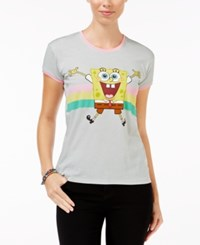 Mighty Fine Juniors' Spongebob Graphic T Shirt Cement