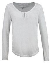 Tom Tailor Long Sleeved Top Smooth Grey