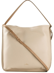 Hogan Hobo Bag Nude And Neutrals