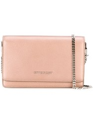 Givenchy 'Pandora' Chain Wallet Pink Purple