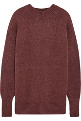 Tibi Knitted Sweater Brown