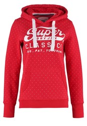 Superdry Sweatshirt Indiana Red