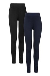 Topshop Maternity Multi Pack Leggings Navy Blue