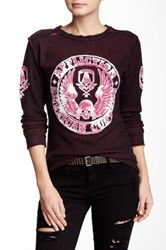 Affliction Heroic Long Sleeve Reversible Thermal Red