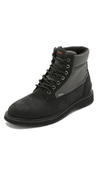 Swims Barry Work Boots Black Olive
