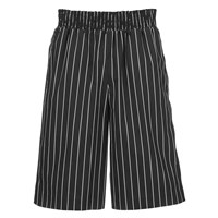 Opening Ceremony Men's Pinstripe Boxing Shorts Black