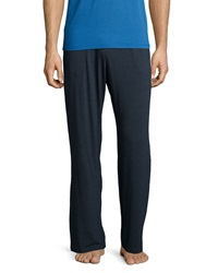 Derek Rose Jersey Knit Lounge Pants Charcoal