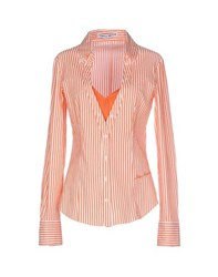 Frankie Morello Shirts Shirts Women Orange