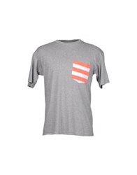 Amaranto Short Sleeve T Shirts Grey