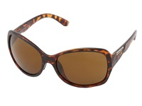 Suncloud Polarized Optics Cassandra Tortoise Frame Brown Polarized Polycarbonate Lenses Fashion Sunglasses Multi