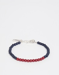 Jack Wills Beaded Bracelet Red