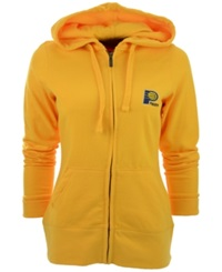 Antigua Women's Indiana Pacers Full Zip Hoodie Gold