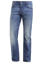 Mustang Oregan Slim Fit Jeans Blau Blue Denim