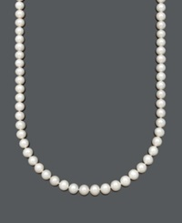 Belle De Mer Aa Cultured Freshwater Pearl Strand Necklace 8 1 2 9 1 2 10Mm In 14K Gold