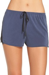 Band Of Gypsies Women's Lace Inset Shorts