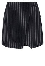 New Look Wrap Skirt Navy Dark Blue