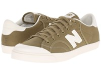 New Balance Pro Court Green Olive Men's Lace Up Casual Shoes