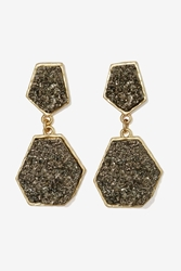 Nasty Gal Rock With You Druzy Earrings