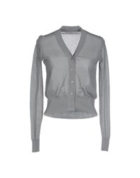 Alpha Massimo Rebecchi Knitwear Cardigans Women Grey