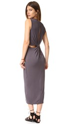 Young Fabulous And Broke Marden Dress Charcoal