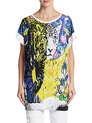 Just Cavalli Printed Dolman Tunic Multi