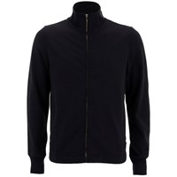 Paul Smith Jeans Men's Zipped Track Top Black