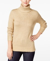 G.H. Bass And Co. Turtleneck Sweater Dark Sand
