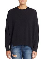Marc By Marc Jacobs Cashmere Cropped Sweater Black