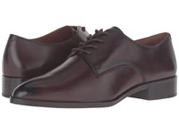 Frye Erica Oxford Dark Brown Smooth Veg Calf Women's Shoes