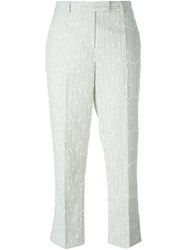 3.1 Phillip Lim Boucle Cropped Trousers Nude And Neutrals