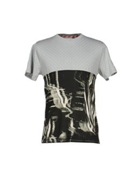 Basso And Brooke T Shirts Light Grey