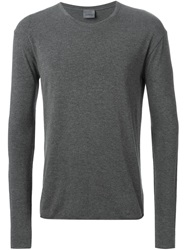 Laneus Long Sleeve T Shirt Grey