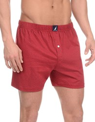 Nautica Patterned Knit Boxers Medal