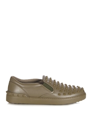 Valentino Rockstud Leather Trainers