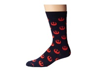 Cufflinks Inc. Rebel Repeat Socks Blue Men's Crew Cut Socks Shoes