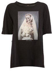 Undercover Skeleton Bride Print T Shirt Black