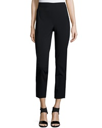 Derek Lam 10 Crosby Cropped High Waist Leggings Black