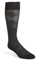 Calibrate Men's 'Plaited Maze' Socks