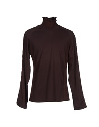 Class Roberto Cavalli T Shirts Dark Brown