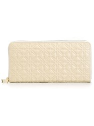 Comme Des Garcons Wallet Stars Pattern Wallet White