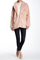 Lavand. Faux Fur Coat Pink