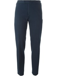 Stephan Schneider 'Jack' Cropped Trousers Blue