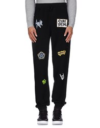 Happiness Trousers Casual Trousers Men Black